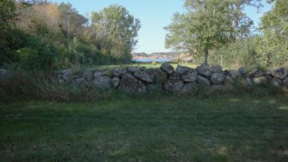 Sjømanns-kirkegård på Hesnesøy